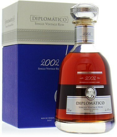 Diplomático Single Vintage 2002 0,7l 43%