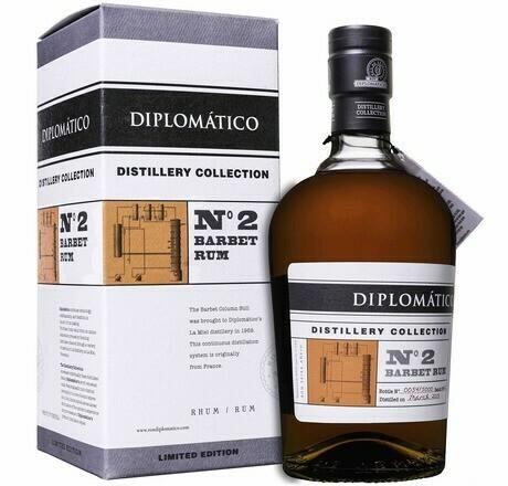 Diplomático Distillery Collection No.2 Barbet 0,7l 47%