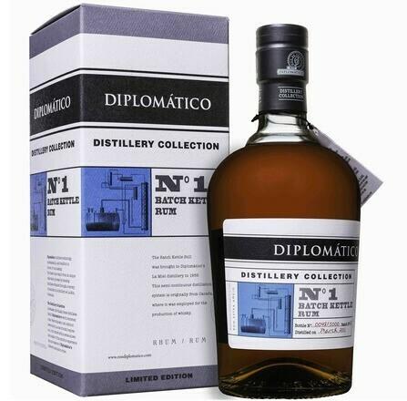 Diplomático Distillery Collection No. 1 Batch Kettle 0,7l 47%