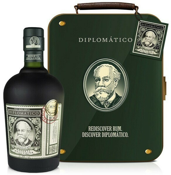 Diplomatico Reserva Exclusiva 12 years 0,7l 40% + fémdoboz