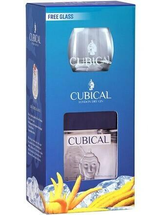 Cubical Premium Gin 0,7l 40% + 1 pohár