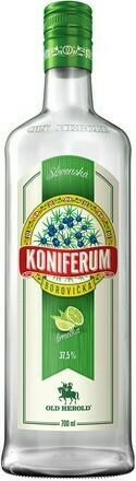 Koniferum Borovička Limetka 0,7l 37,5%