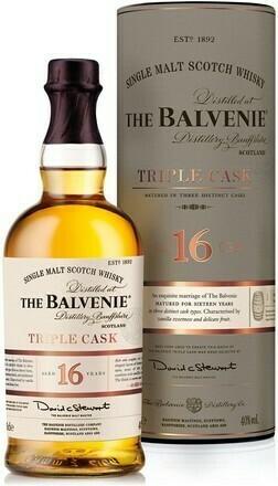 Balvenie 16 years Triple Cask 0,7l 40% TU