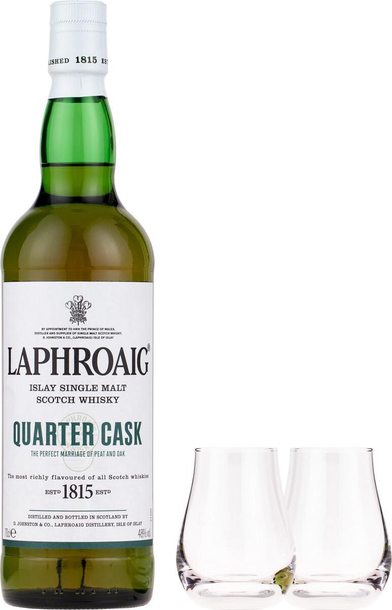 Laphroaig Quarter Cask 0,7l 48% GB +2 pohár