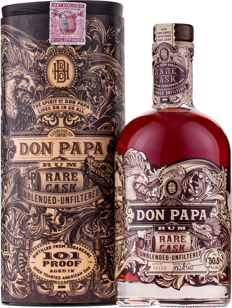 Don Papa Rare Cask 0,7l 50,5% GB