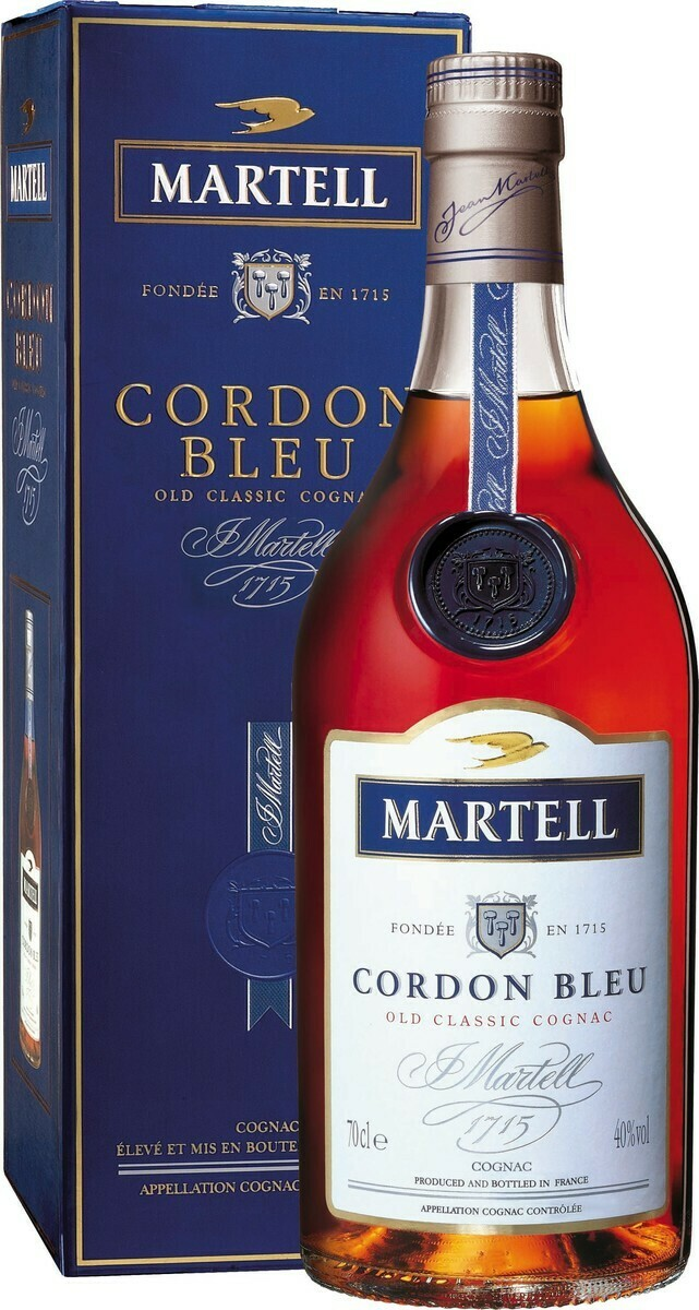 Martell Cordon Blue 0,7l 40% GB