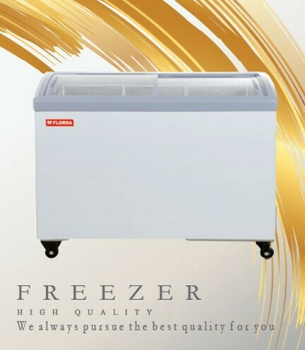 HS-338Y FLORSA showcase freezer