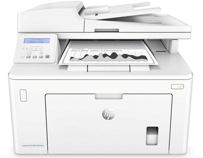 HP LASER JET PRO MFP M227 SDN PRINTER