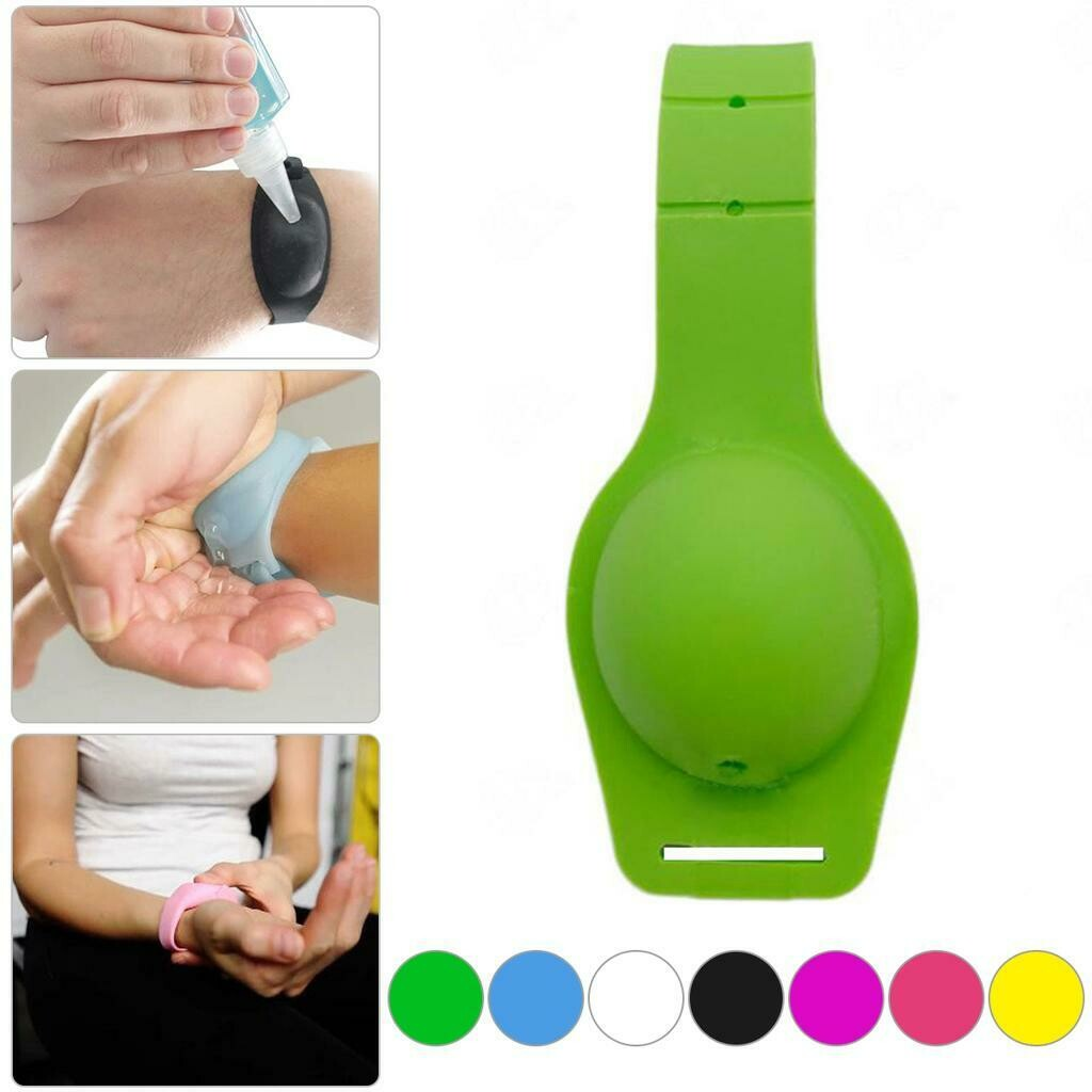 Wristband Hand Sanitizer Rwanda I Kids and Adults