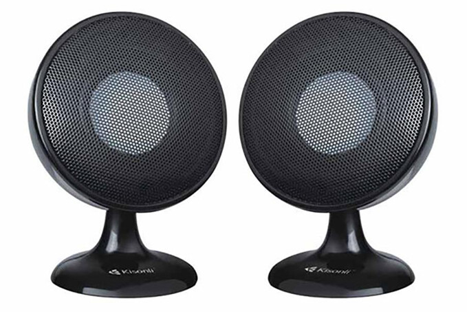 KISONLI S-888 MULTIMEDIA 2.0 CHANNEL SPEAKER