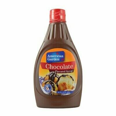 American garden choco syrup 680g