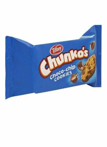 CHUNKOS CHOCOLATE CHIPS 6*12*40G