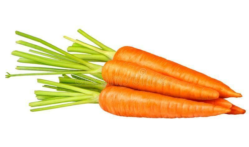 Fresh carrots/kg