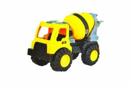 Toy engineering car
