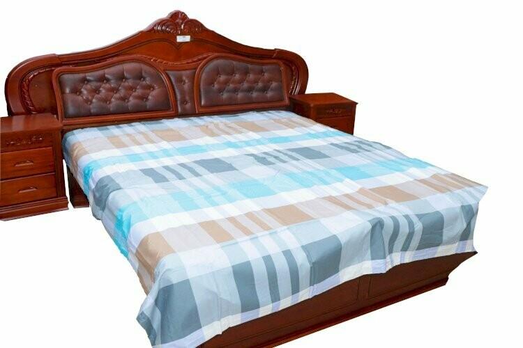 BED SHEETS QUILT COVER SET 4PCS