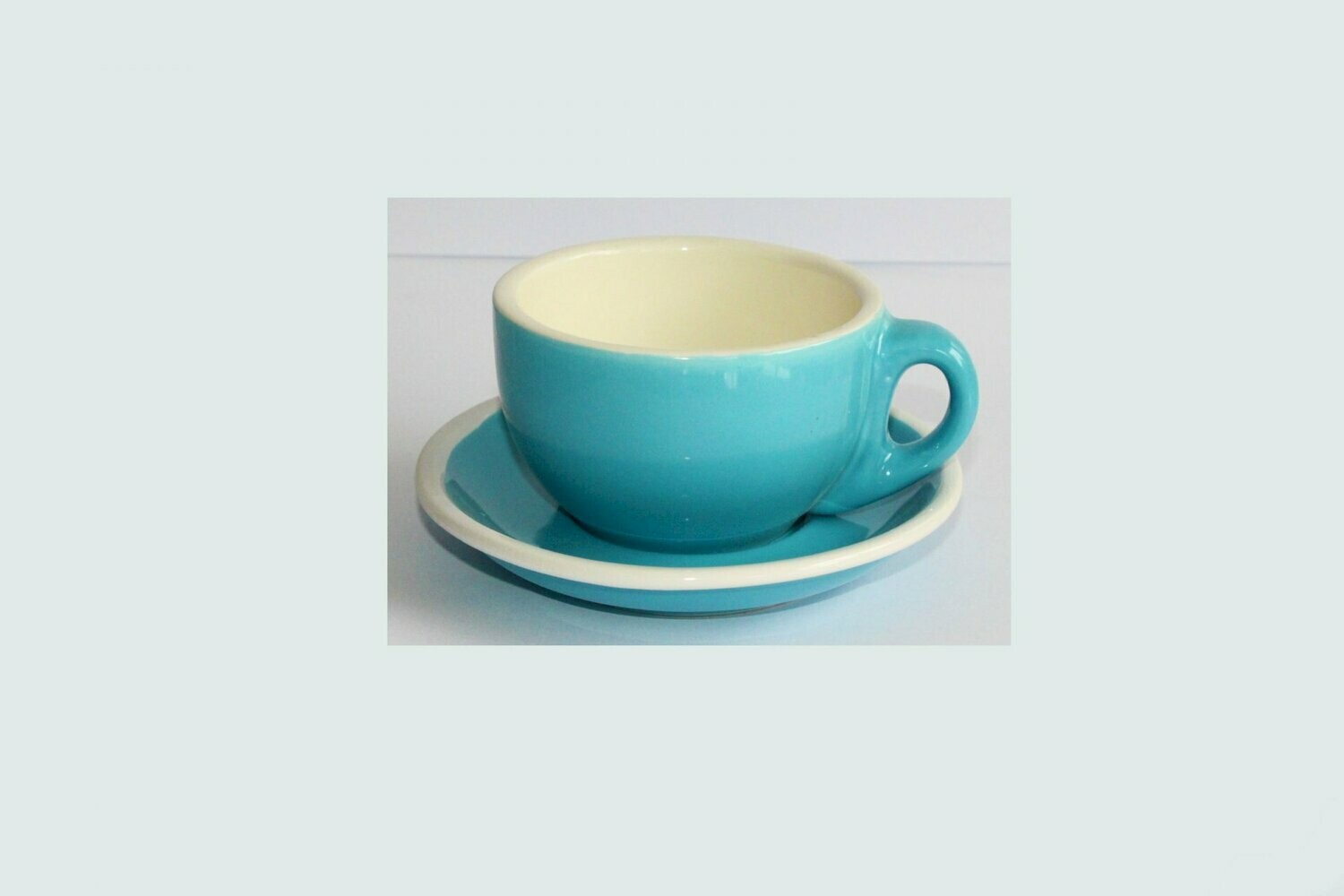 Ceramic cup and dish