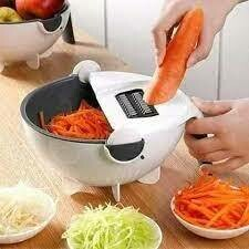Vegetable Chopper, Multifunctional Vegetable Fruit Slicer Cutter Kitchen Colander/Strainer Bowl Set, Manual Vegetable Grater for Carrot, Potato, Tomato, Fruit.