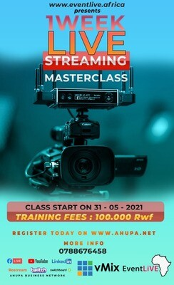Live Streaming MASTER CLASS - GASABO