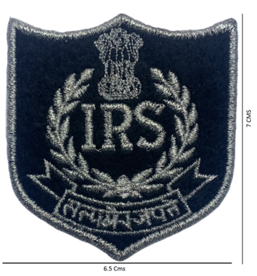 IRS Logo Patch - 3 Pcs Pack