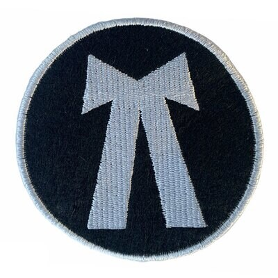 3 Pcs of Embroidered Advocate Logo Sew On Patch