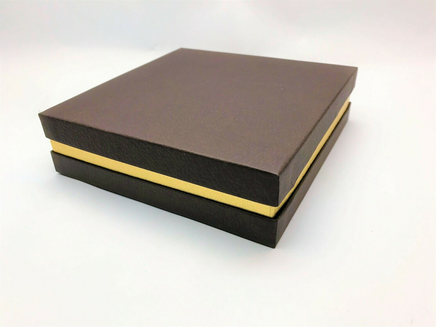 Brown and Gold Gift Box