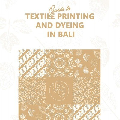 E-guide To Textile Printing And Dyeing In Bali