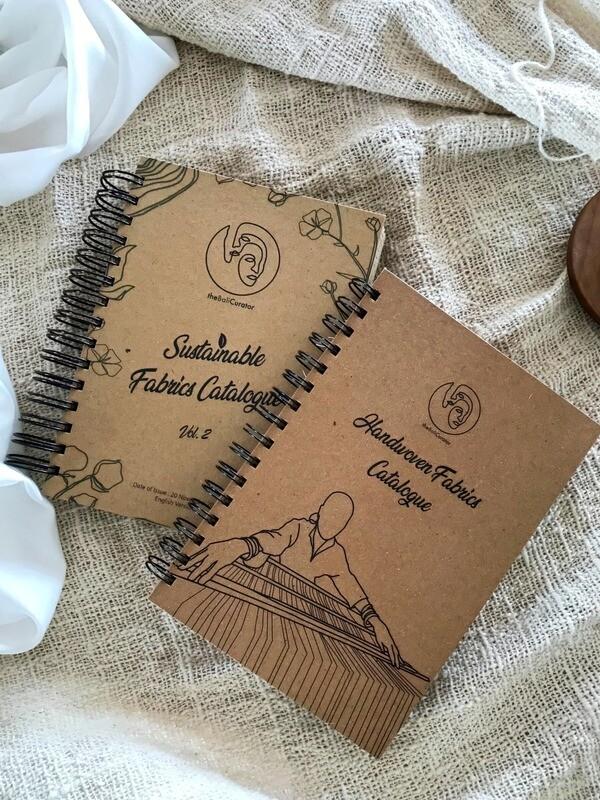 Sustainable Fabrics Catalogue + Handwoven Fabrics Catalogue