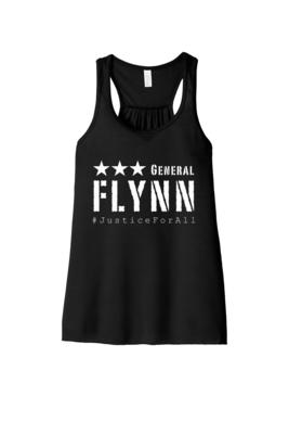 General Flynn Ladies Flowy Racerback Tank