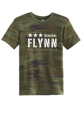 General Flynn Mens Crew Neck Soft Tee - Camo