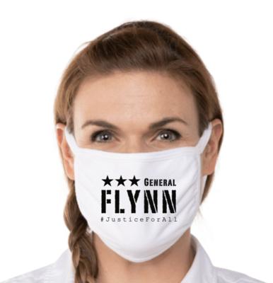 General Flynn Face Mask - White