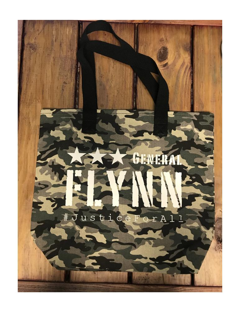 General Flynn Camo Canvas Tote