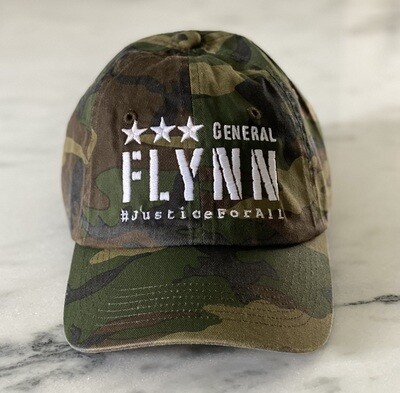 General Flynn Camo Hat