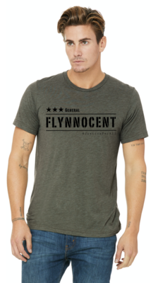 NEW! Flynnocent Mens Army Tee