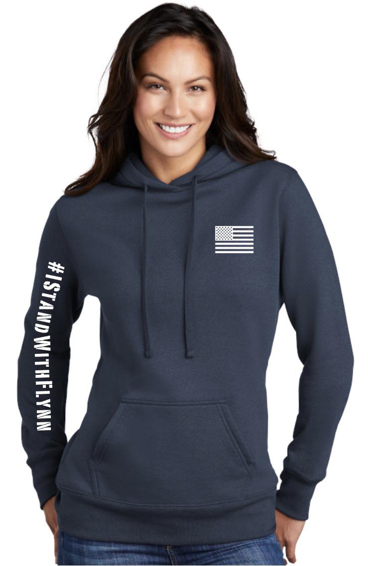 General Flynn Ladies Hooded Sweatshirt