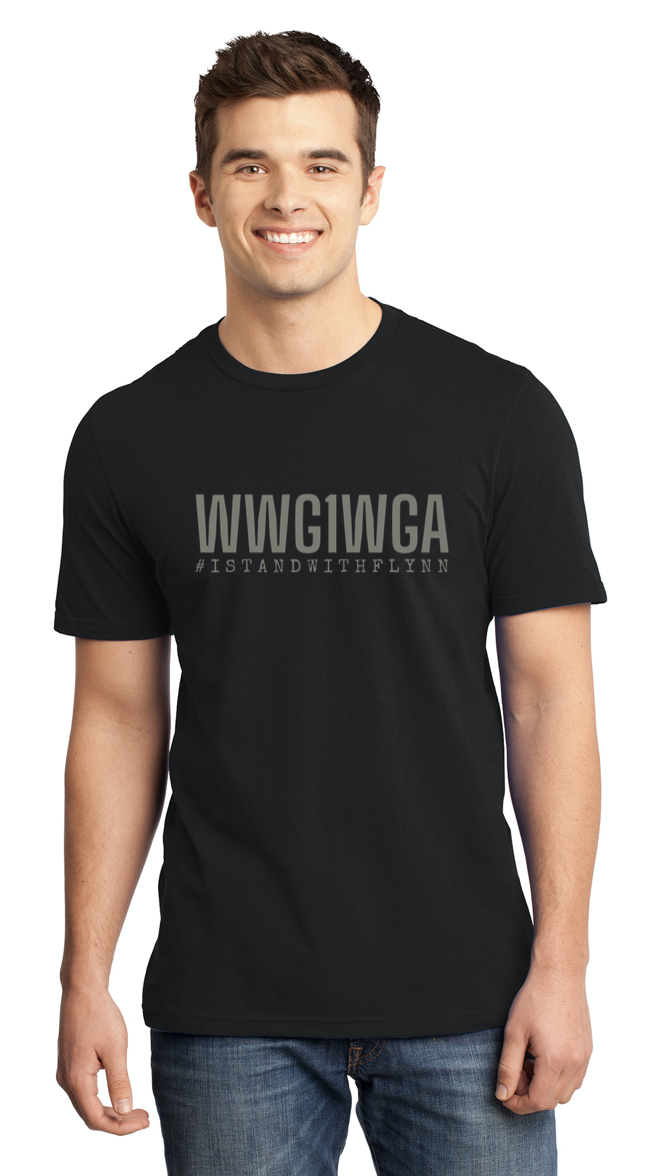 WWG1WGA Mens Crew Neck T-shirt - Limited Edition