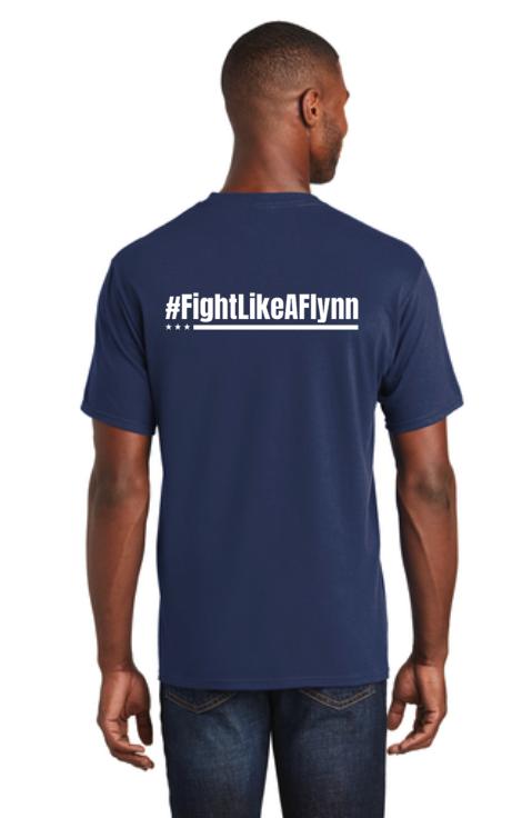 #FightLikeAFlynn Mens Tee