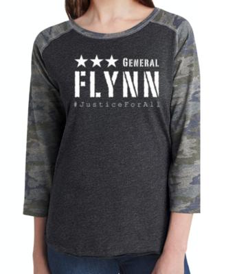 General Flynn Raglan Camo Shirt