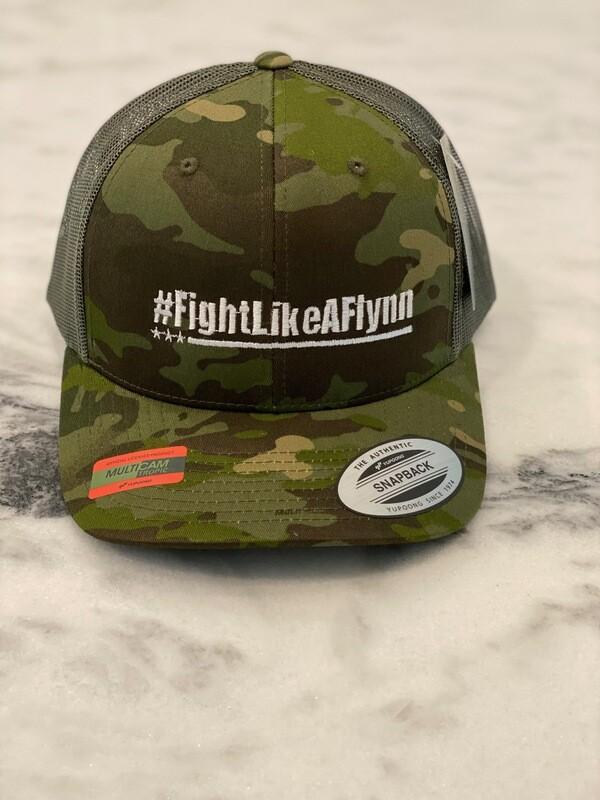 #FightLikeAFlynn Snapback Trucker Hat