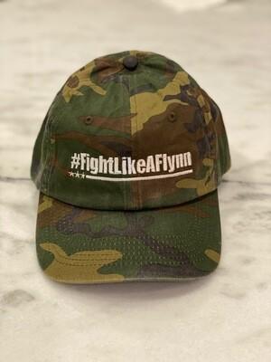 #FightLikeAFlynn Camo Hat