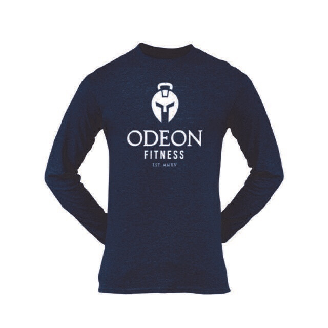 Adult Long Sleeve T - Odeon Logo