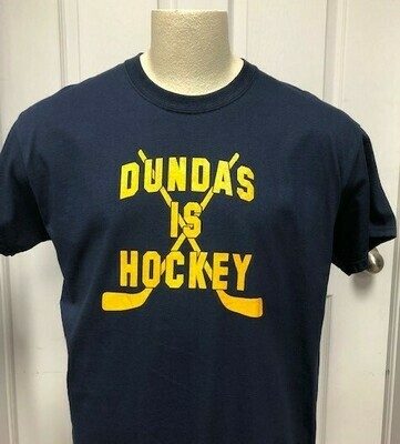 Short Sleeved T - Dundas is Hockey