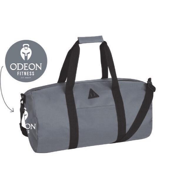 Odeon Retro Barrel Bag