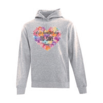 Hooded  Sweatshirt - It's a Beautiful Day to Save Lives
