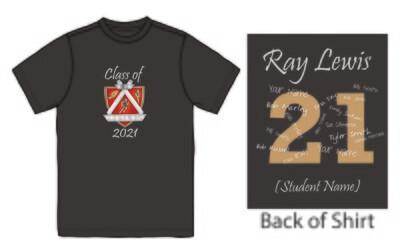 Ray Lewis Grad 2021 T-Shirt