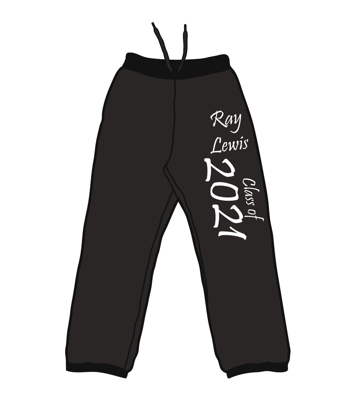 Ray Lewis Grad Sweatpants