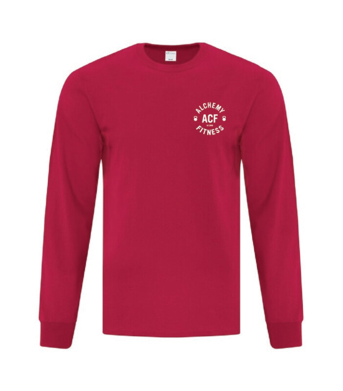 Long Sleeve Performance T-Shirt with Logo