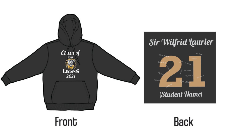 Sir Wilfrid Laurier Grad 2021 Hoodie