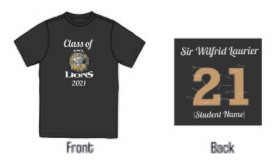 Sir Wilfrid Laurier Grad 2021 T-Shirt