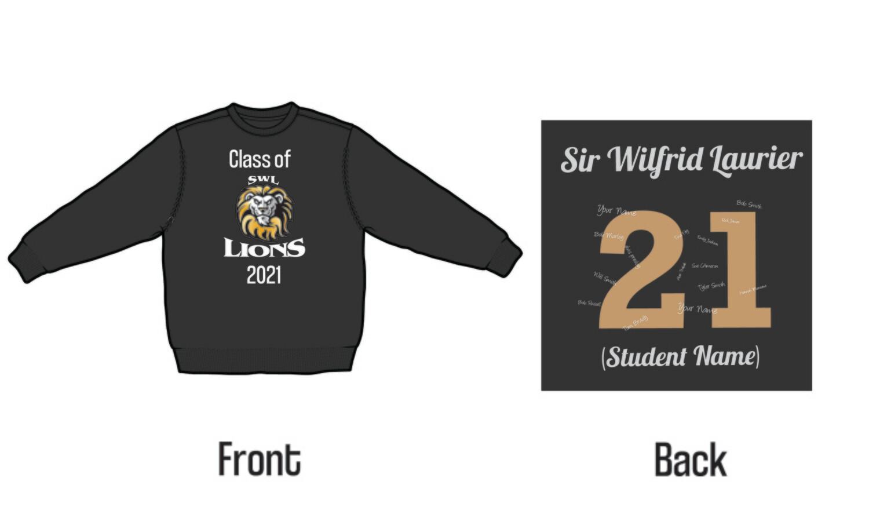 Sir Wilfrid Laurier Grad 2021 Crew Neck