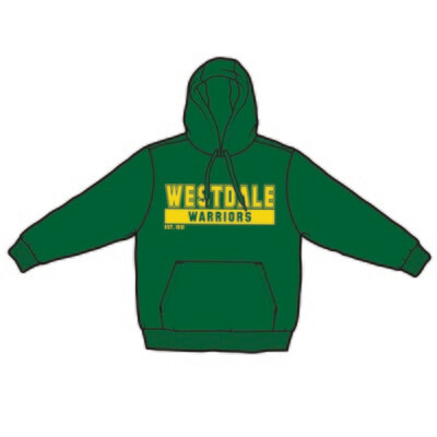Westdale Warriors Hoodie - Silk Screened Logo
